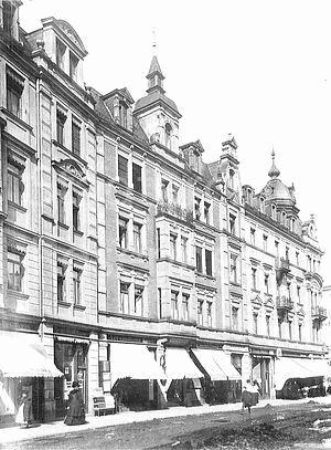 85f8806c3e96bf Abb. 56 Ansicht Gillitzerblock von der Münchenerstraße ca. 1910